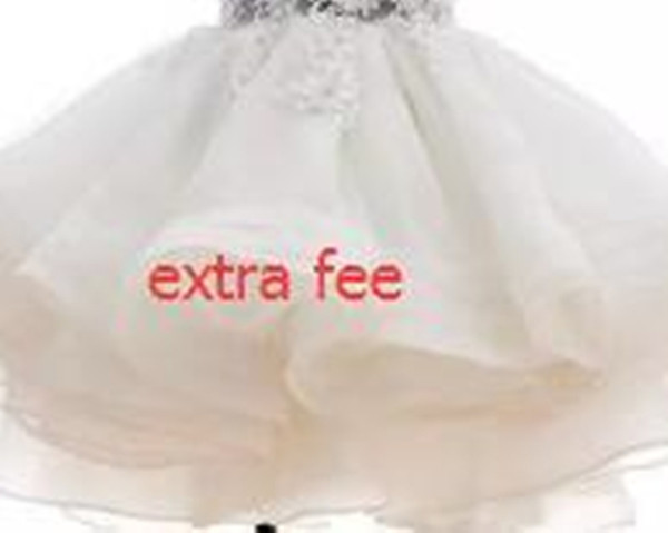 best selling 2021 New Lovely Other Wedding Apparel extra fee extra shipping