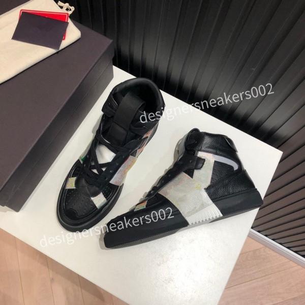 2021NEW men high tops socks shoes hip hop trend men's shoes mesh mens Casual Shoes Men's Sneaker youth ankle boots dlm201101