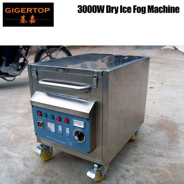 top popular 3000W High Power Low Ground Fog Machine Dry Ice Fog Water Heater Pipe Manual Control High Volume Gas Output Wedding Dancing Fog Device 2021