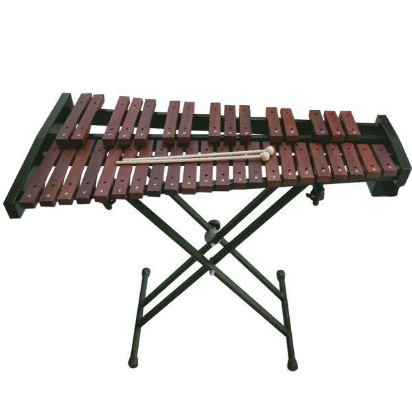 best selling Orff percussion instrument malimba 37 tone mahogany band performs 37 key playing