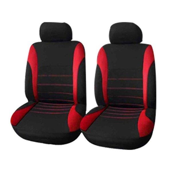 Deux sièges rouge