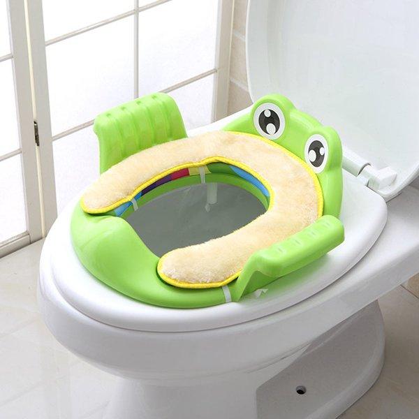 top popular Baby Potty Training Cushion Toddlers Kids Closestool Anti-slip Cartoon Seats LJ201110 2021