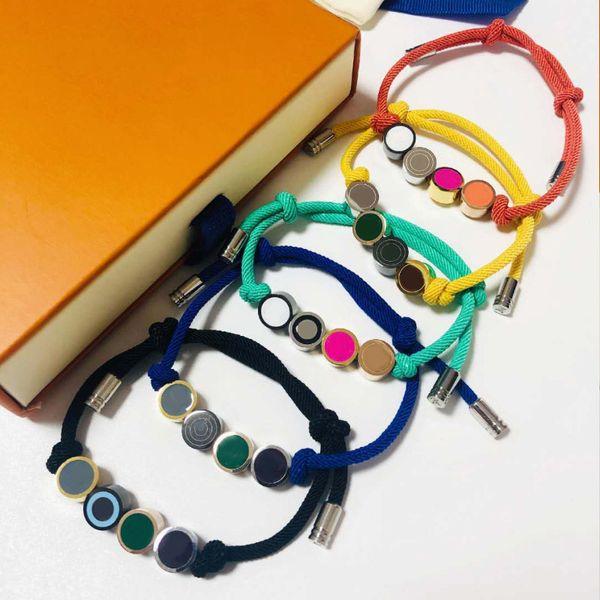 best selling Handmade Knots Rope Bracelet Unisex Bracelet Fashion Bracelets for Man Women Jewelry Adjustable Bracelet Fashion Jewelry 5 Colors