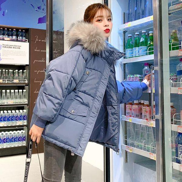 Manteau d'hiver bleu