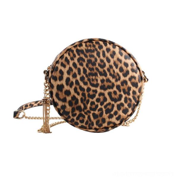 Tassel de chaîne léopard brune # 78604