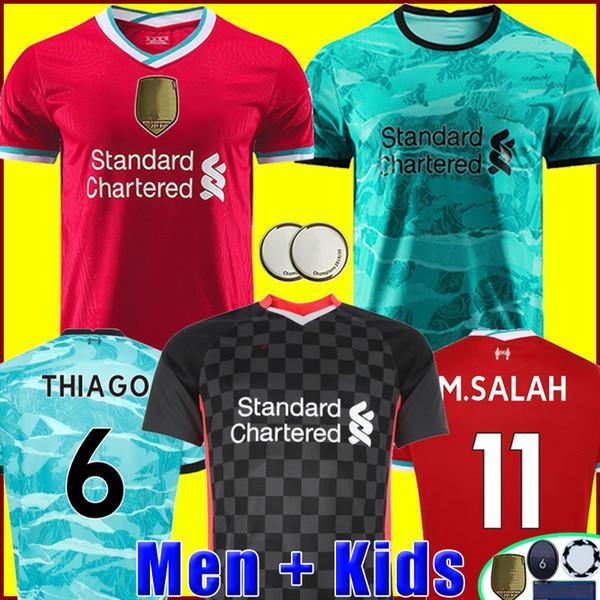 best selling Top thailand quality soccer jersey football shirt 20 21 men + kids kit uniforms 2020 2021