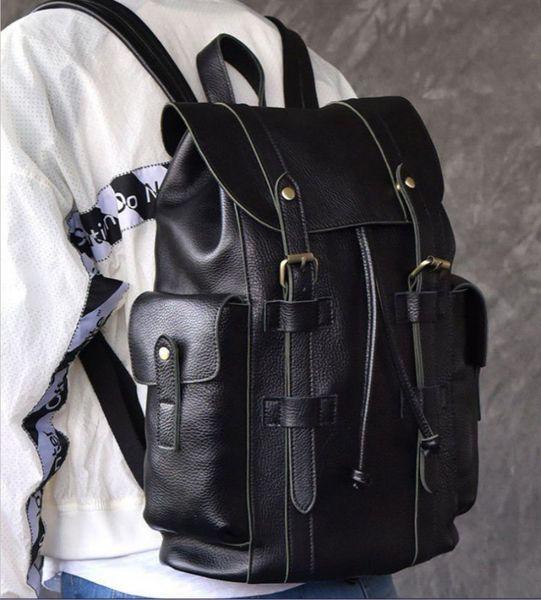 best selling 2020 new bag shoulder bag female travel bag Korean fashion PU leather waterproof foreign trade backpack handbag