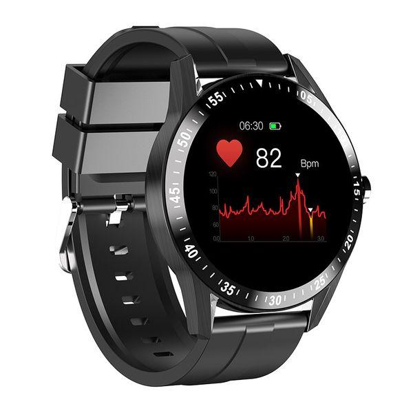 硅胶 表带 黑色 心率 版 蓝牙 通话 + 音乐 播放 + 运动 模式