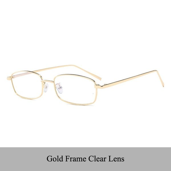 Gold F Clear Lens