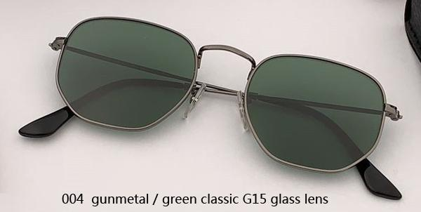 004 gunmetal/green classic G15 lens