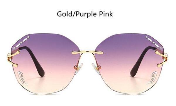 Золотой фиолетовый розовый