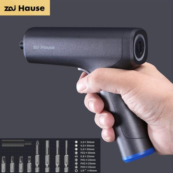 best selling Xiaomi Youpin Zai House Electric Screwdriver Set Hot Melt Glue Gun Precision Screwdriver Set Repair Tools Repair Tools for Smart Home