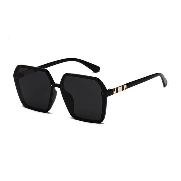 Schwarzer Rahmen und schwarzer grauer Film (polarisierende Augenschutzlinse)