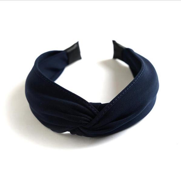 Bleu marine Hairband