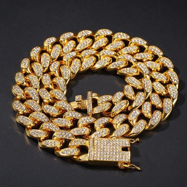 Collier d'or-28 pouces