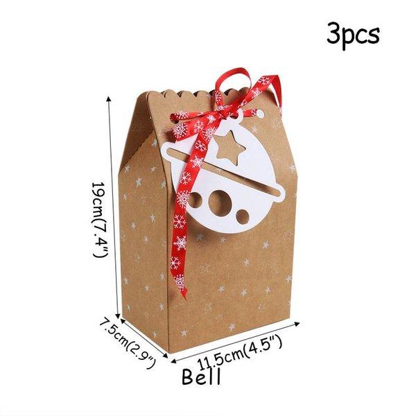 boîte de papier 3pcs