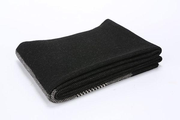 Black White Stripe-о 180cmx30cm