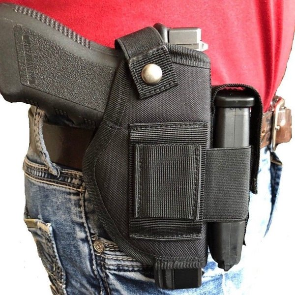 best selling Tactical NEW Nylon Belt Clip Gun Holster With Extra-Magazine Holder For Walthe r P P S