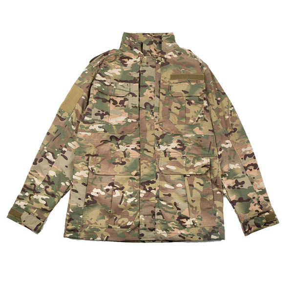 best selling Outdoor Clothing Woodland Hunting Shooting Coat Tactical Combat Winter Clothing Camouflage Windbreaker Tactical Outdoor M65 Jacket P05-222