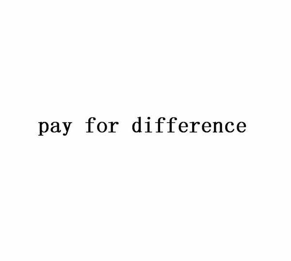 pago por la diferencia
