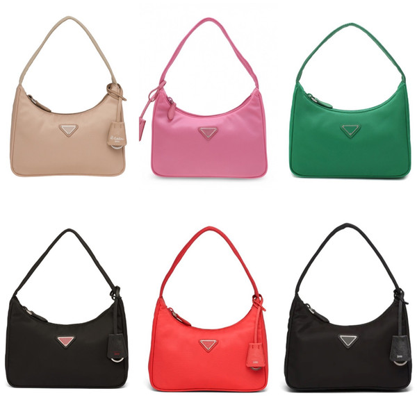 top popular 2020 High quality reedition 2000 Designer tote Shoulder Bags duffle Nylon leather bag famous Handbags Lady wallet Crossbody bag wallet Hobo 2021