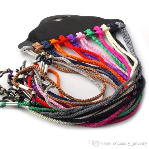 top popular Nylon Eyeglasses Strap Chain Necklace Neck Cord String for Sunglasses Reading Glasses Multicolor Lanyard Holder 2021