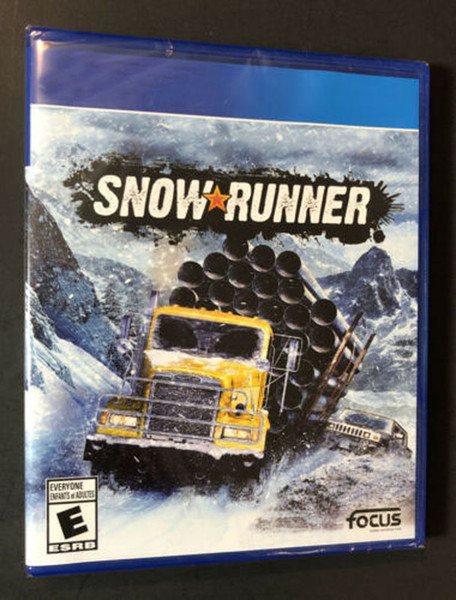 best selling 2020 hot sale factory sealed video games Snow Runner top quality Free shipping
