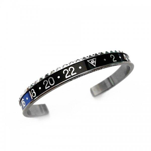 Stahl-blau-schwarz