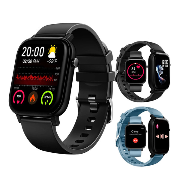top popular M9 Smart Watch Bracelet Sport Wristband Heart Rate Blood Pressure Monitor make phone call Fitness Tracker Smartwatch For All Smartphone 2021