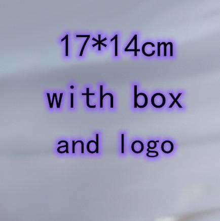 17 * 14см с коробкой и логотипом