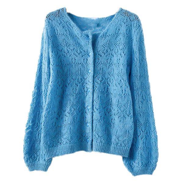 Blauer Azur.