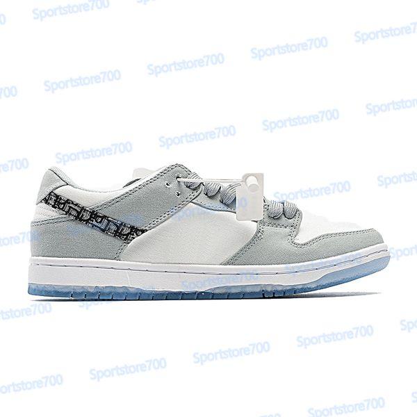 31. LX Canvas weiß grau