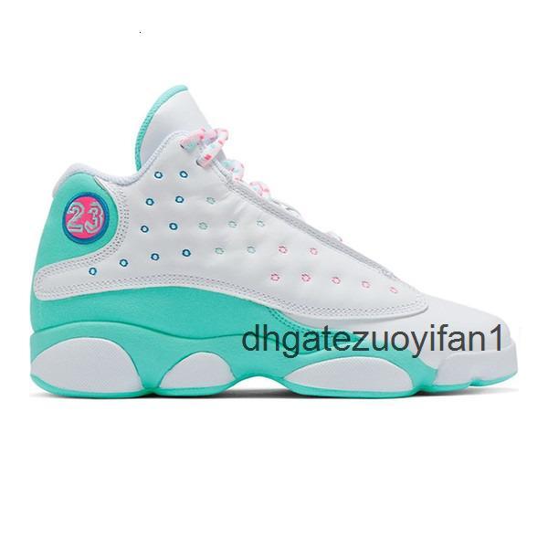 White Soar Green Pink 36-47