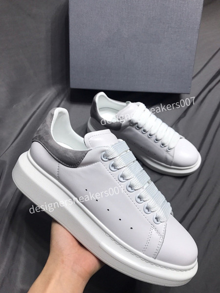 2021new Womans sneakers leather shoes leather shoes increase Men And Women size gp190701