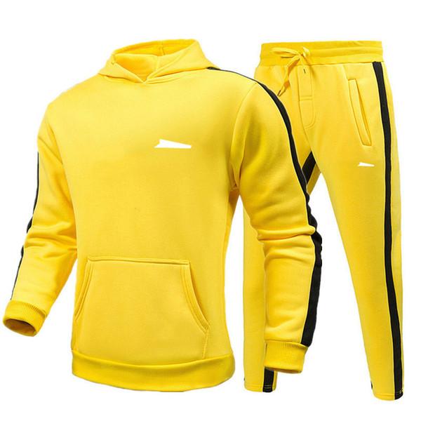 Желтый + белый логотип