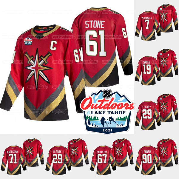 top popular Vegas Golden Knights 2021 Outdoors Sunday Retro Marc-andre Fleury Alex Pietrangelo Ryan Reaves Robin Lehner Stone Pacioretty Tuch Jersey 2021