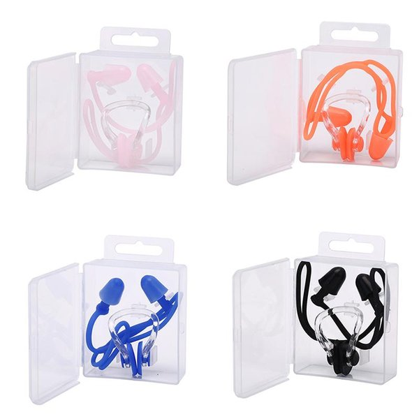 best selling Soft Ear Plugs Environmental Silicone Waterproof Dust-Proof Earplugs Diving Water Sports Swimming Accessories Dive Supplies