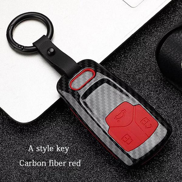 Bir stil - Kırmızı Karbon fiber