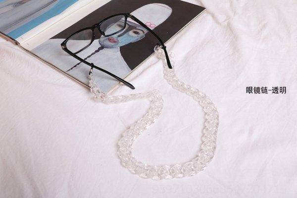 Cadeia de óculos - transparente