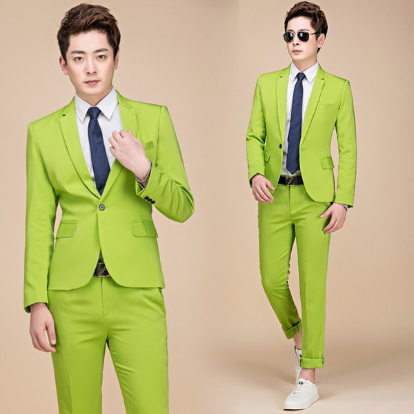 Pantalones de chaqueta verde