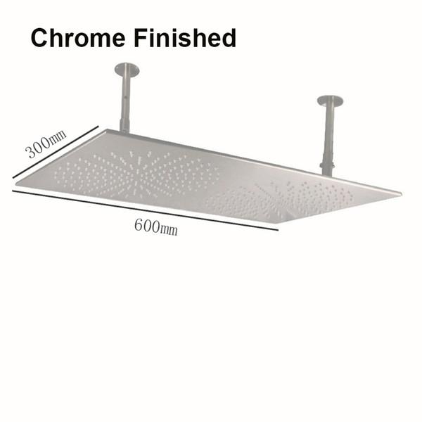 300 * 600mm Chrome fertig