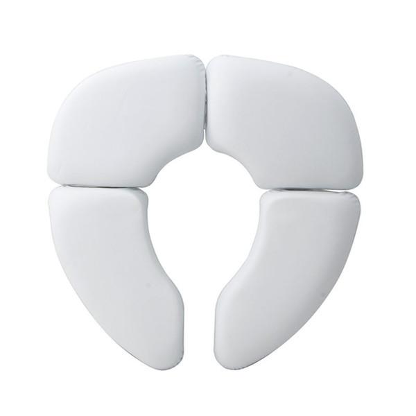 top popular Soft Portable Folding Child Baby Toilet Seat Soft Potty Chair Pad Cushion Training LJ201110 2021