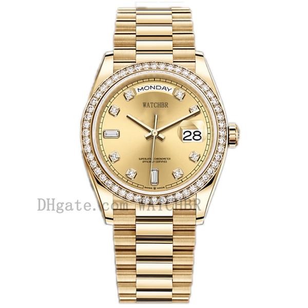 best selling Watchbr-U1 40mm 36mm Mechanical Automatic Watch Diamond Mens Watch Date Watch Lady Women DiamondWatch Waterproof Luminous Watches