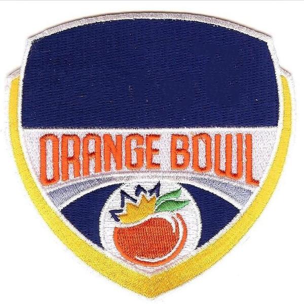 Add Orange Bowl Patch