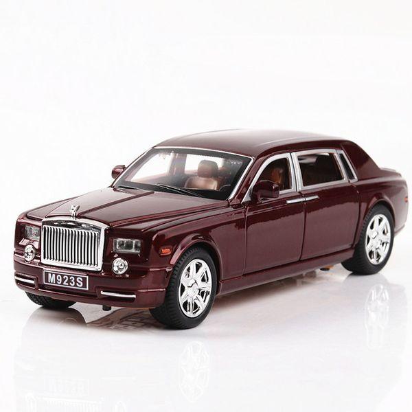 Rolls-Royce Vermelho