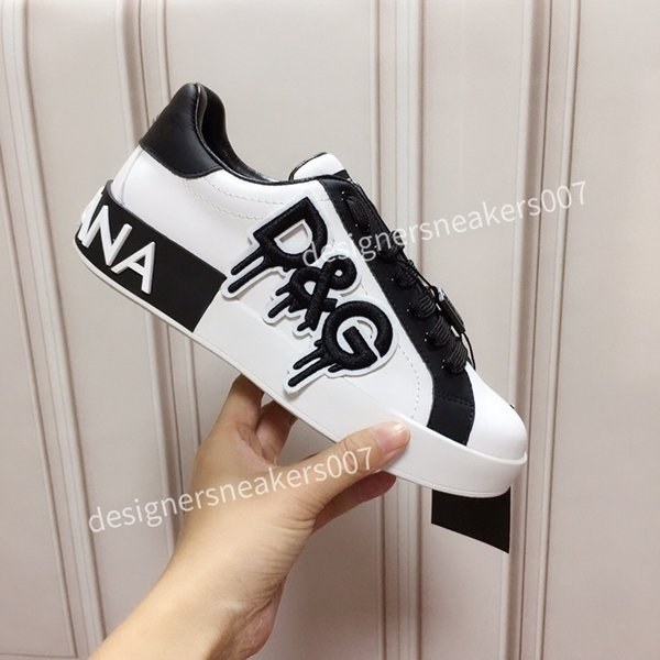 2021new Woman arrival Casual Shoes White Black Red Fashion Mens Women Leather Breathable Shoes Open Low sports Sneakers hc191006