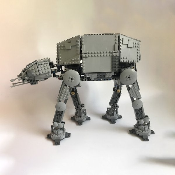 best selling In stock 05050 1137pcs Creator Planet Series Motorised Walking AT-AT Building Building Blocks Bricks Toys Comptible 10178