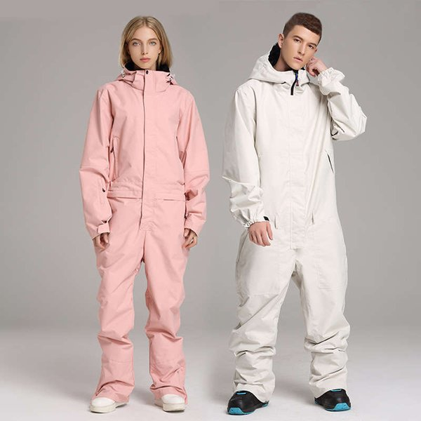best selling Ski Suit Jumpsuit Snowboard Jacket Men Outdoor Hiking Skiing Set Winter Women Clothing Lining of clothes Overalls Waterproof