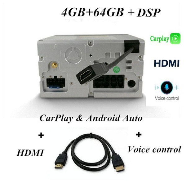 64 GB DSP HDMI Voice Carplay