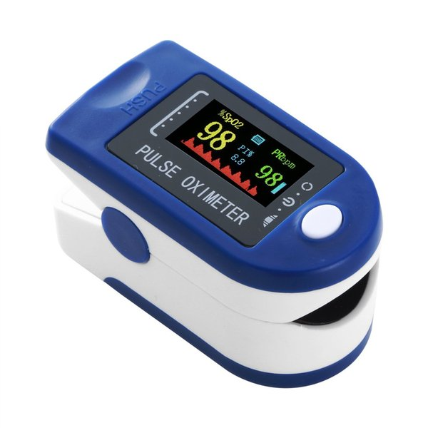 best selling Finger Pulse Oximeter Finger Clip Heartbeat Saturation Oxygen Pulsoksymetr Heart Rate Spo2 Monitor Blood Saturation Meter Sensor